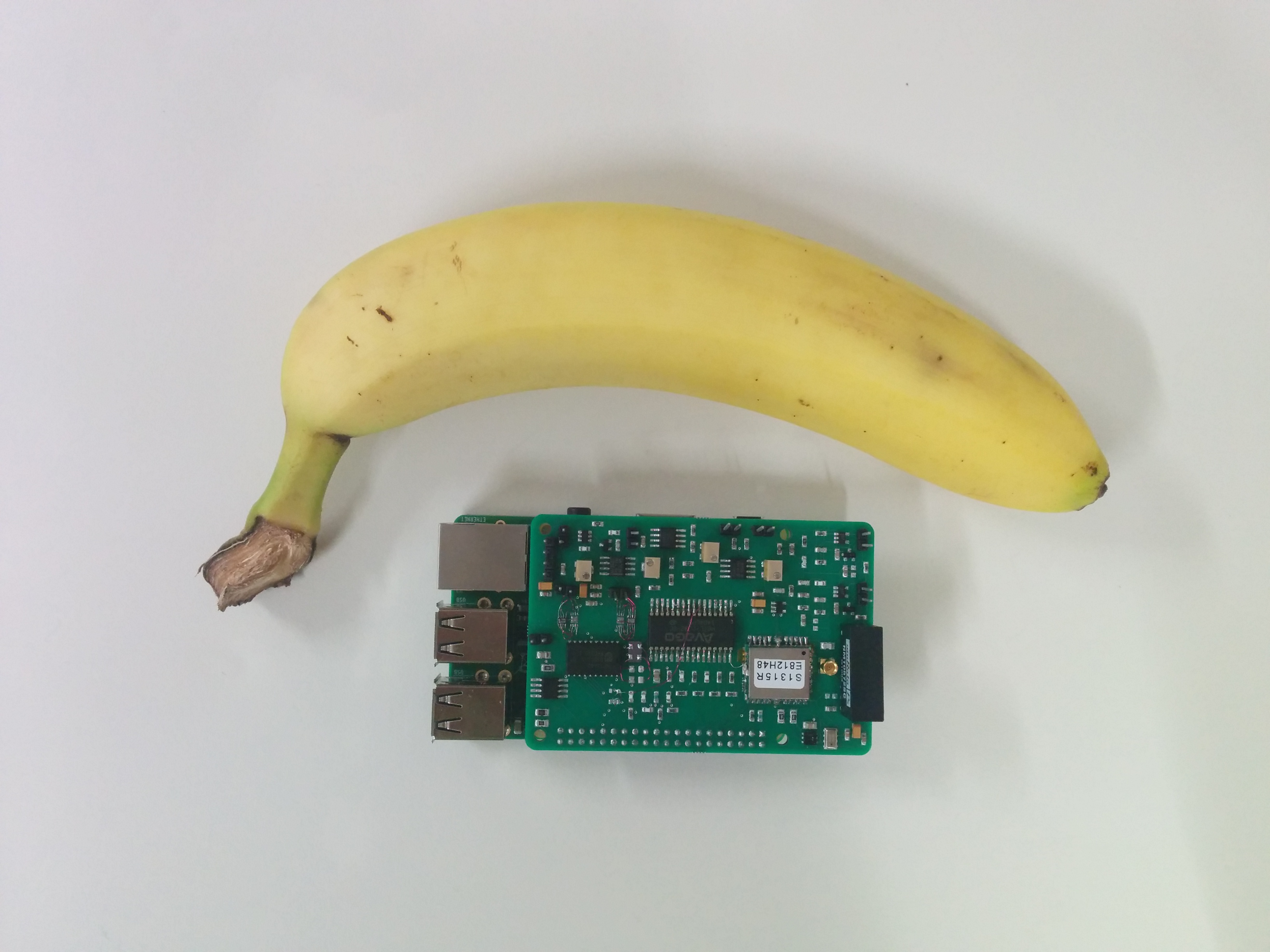 Version 1 with Banana for scale.